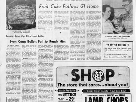 Fruit Cake Follows GI Home