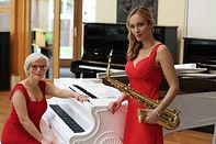 Damen Duo für Gala, Empfänge, Dinner, Ball