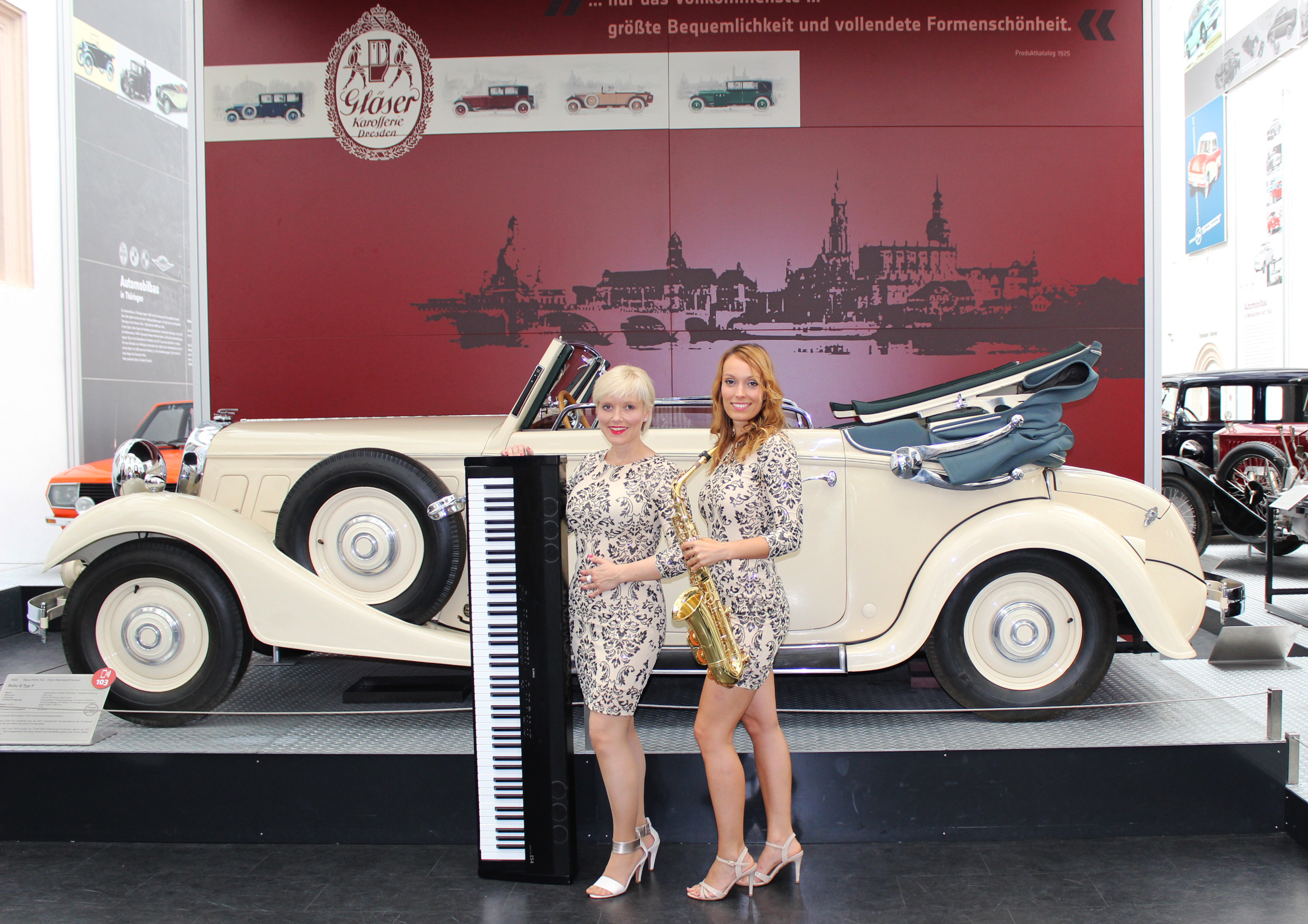 montrio live musik piano saxophon