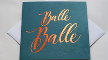 Balle Balle! Paisley Plush Greeting Cards Are Here!