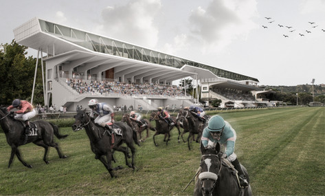 Naples racecourse requalification,