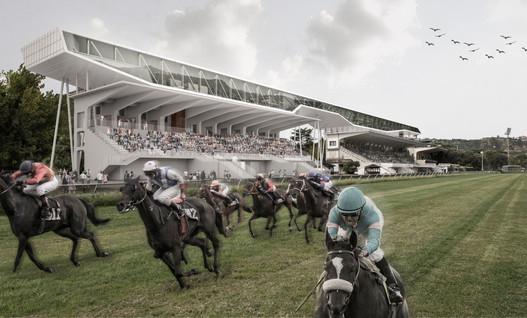 Naples racecourse requalification,