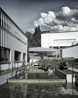 Extension between The Alvar Aalto Museum and Central Museum of Finland,   Jyväskylä Finland. 2015