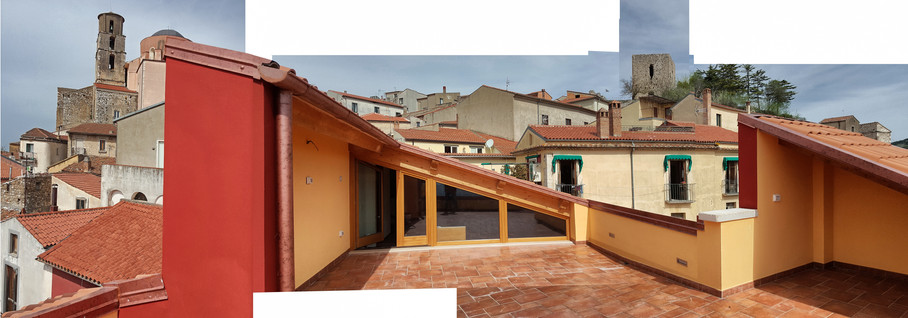 Historical residence restoration. Buccino, Salerno. 2016