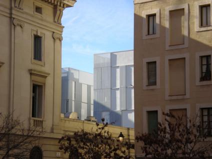 Pla de Palau housing project. Barcelona, 2006