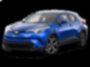 רכב טויוטה CHR צבע כחול