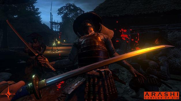 Arashi: Castles of Sin gameplay screenshot