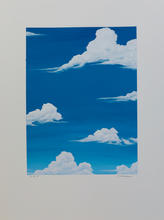 White Clouds_#2_2019_Acrylic on Watercol