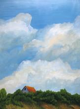 Earth and Sky_House _2019_Acrylic on ply