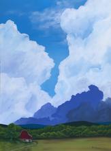 Earth and Sky_The Barn_2019_Acrylic on p