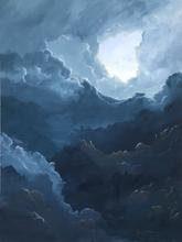 Earth and Sky_Storm Sky_2019_Acrylic on