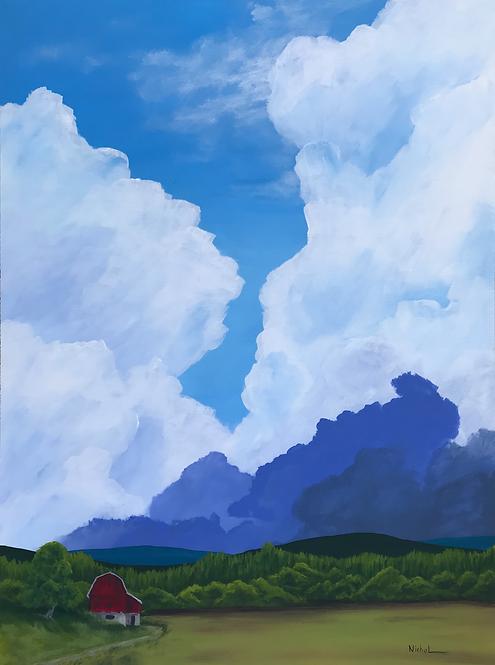 The Barn - Earth and Sky Series