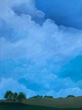 Earth and Sky_Hay Rolls_2019_Acrylic on