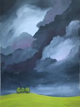 Earth and Sky_Three Trees_2019_Acrylic o