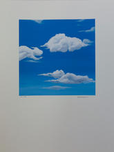 White Clouds_#6_2019_Acrylic on Watercol