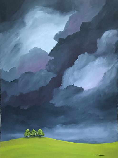 Three Trees - Earth and Sky Series