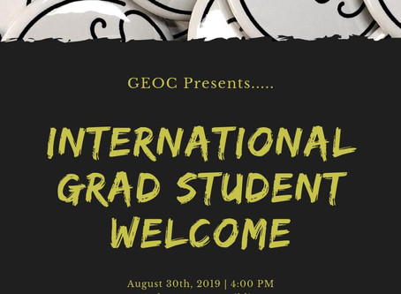 International Grad Student Welcome