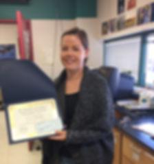 Teaching Award.JPG