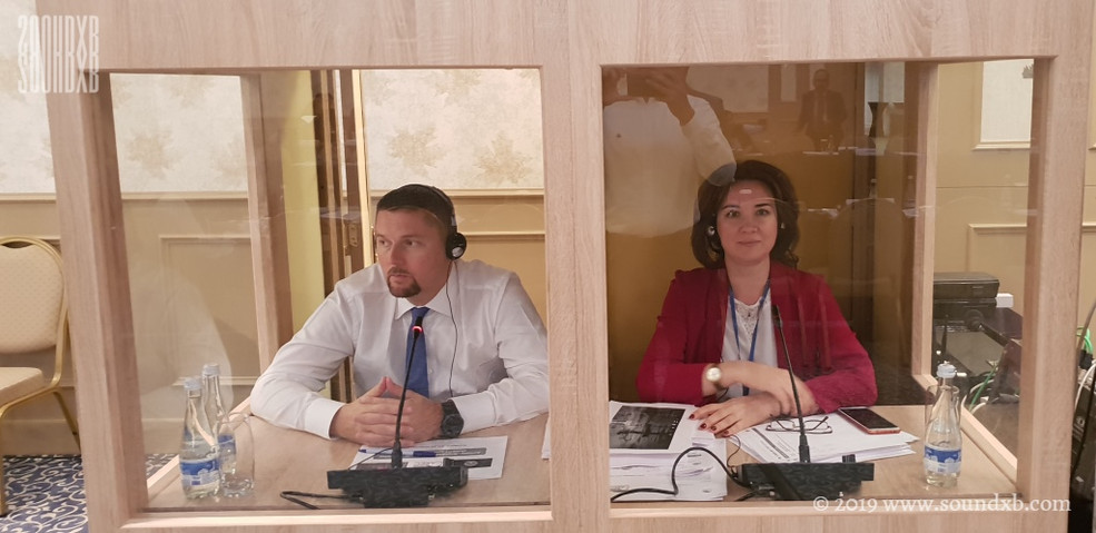 Simultaneous interpreters Dubai Tashkent