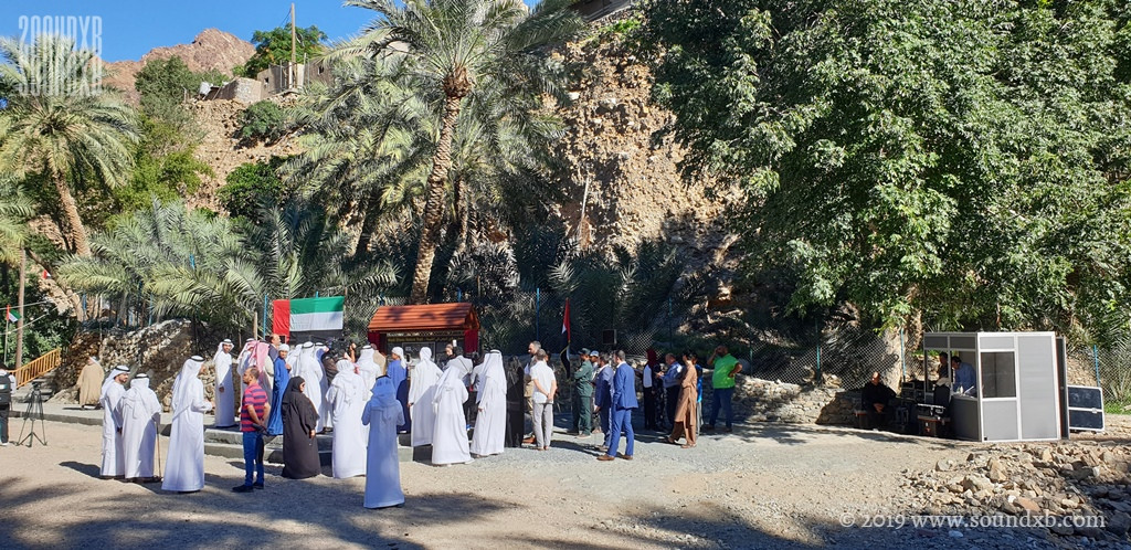 Outdoor simultaneous translation UAE 102