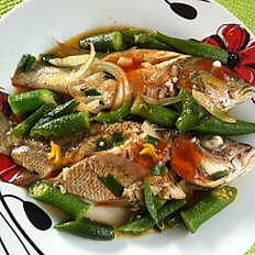 Steam Fish with Vegetables