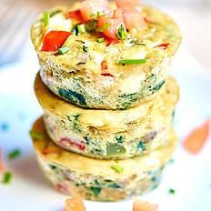 Egg Muffins with Organic Seasonings