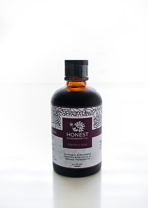 9.1oz Organic Elderberry Syrup