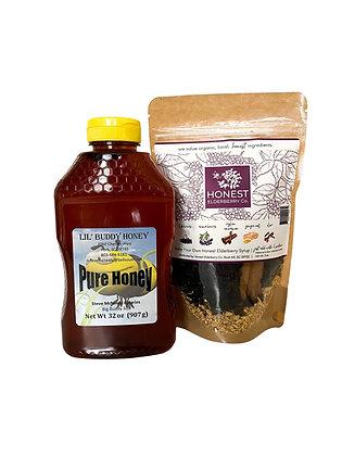 Bundle & Save - 32oz Honey and Make Your Own Kit