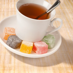 Plain Assorted served with tea
