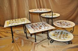 Platters of locum