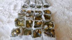 Cubes of Pistachio Bergamot