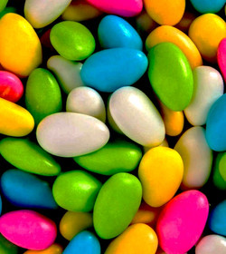 Rainbow Jordan Almonds
