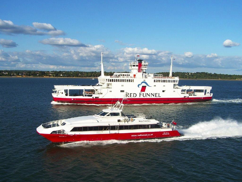Both red funnel