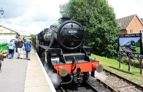 Alton steam train