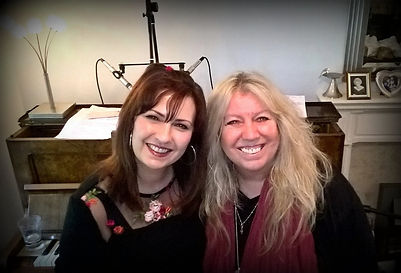 Helen Jayne McKellar and Judie Tzuke collaborating in 2017