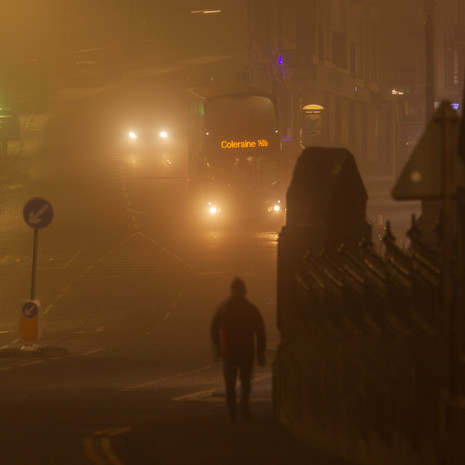 Fog on the Prom, Portstewart