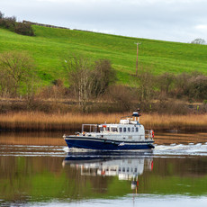 Pilot boat on the River Bann