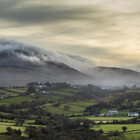 The Mourne Mountians