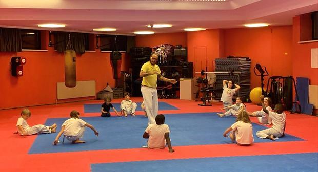 Capoeira Kindertraining Wiener Neudorf Niederösterreich