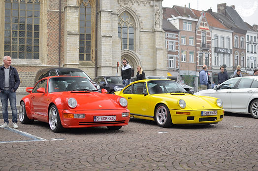 red-and-yellow-porsche