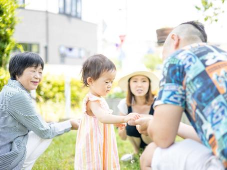 【撮影レポート】「家族の絆アップサービス」ご利用ありがとうございました!