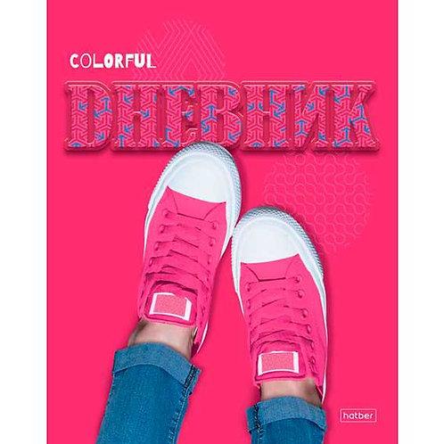 "Дневник 1-11кл. ХАТ тв.обл. ""Pink"" 22962 выб.уф-лак,мат.лам."