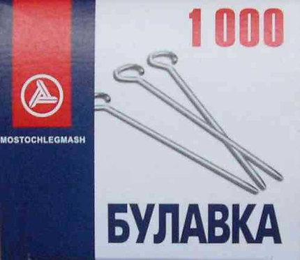 Булавки 30мм (1000шт) С3-0545/1000