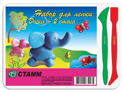 Доска для лепки СТАММ А5, 2 стека НЛ21
