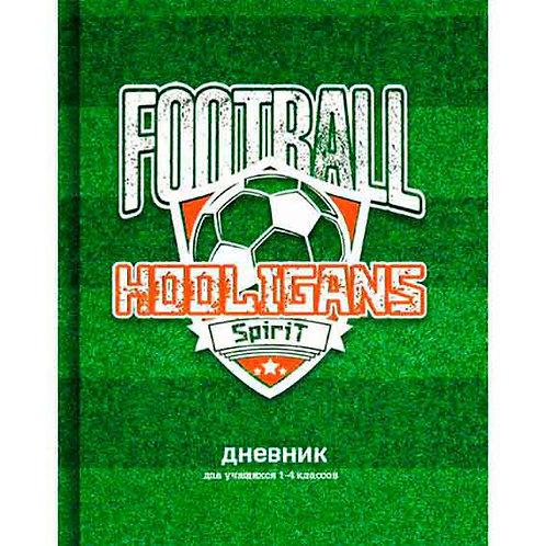 """Дневник 1-4кл. BG тв.обл. """"Football fan"""" 7925 мат.лам.,выб.лак"""