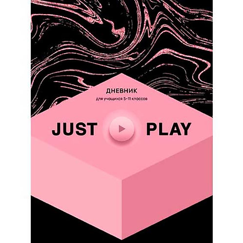 """Дневник 5-11кл. BG тв.обл. """"Pink&Black"""" 7960 мат.лам."""