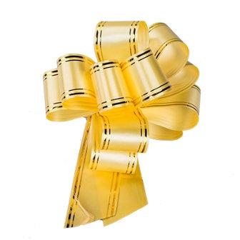 Бант Шар 5см с золотой полоской уп.50шт/2500шт АС78