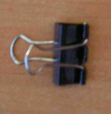 Зажим для бумаг ATTOMEX 25мм черн.металл. 4131302