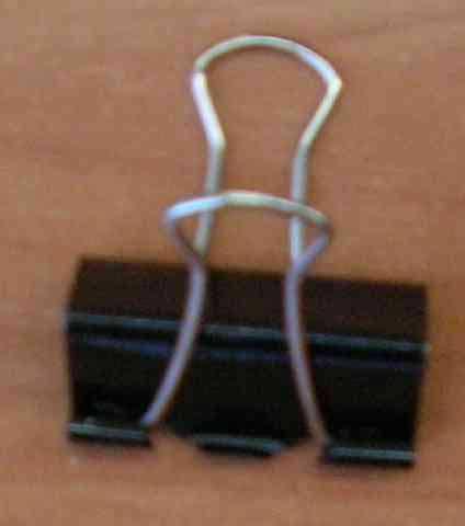 Зажим для бумаг ATTOMEX 41мм черн.металл. 4131304