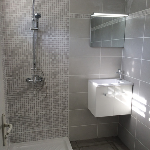 Salle de Bain - Douche EsoBTP - Constuction Rénovation - Travaux Guadeloupe